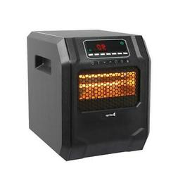 Portable Electric Infrared Space Heater 1500W 12H Timer Remo
