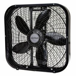 Portable Fans,20-Inch Box Fan,Black by Holmes HBF2001DP-BM