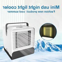 Portable Mini USB Air Conditioner Fan Air Cooler Humidifier
