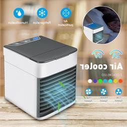Mini Air Conditioner Cooler Cooling USB Fan Humidifier Purif