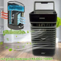 Portable Mini Air Conditioner Fan Air Cooler Humidifier Puri