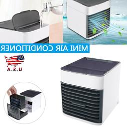 Portable Mini Air Conditioner Personal Space Cooling Fan Hum