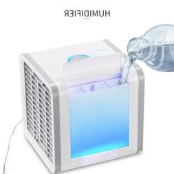 Portable Mini Air Conditioner Water Cooling Fan Quiet Artic