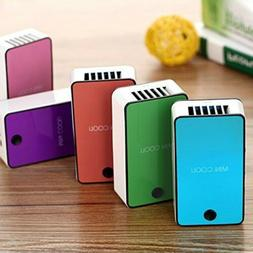 Portable Mini Cooli USB Rechargeable Hand held Air Condition