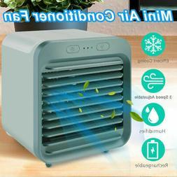 Portable Mini Personal Air Conditioner Desktop Fan Space Coo