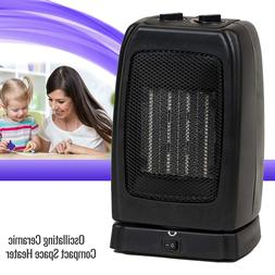 Portable Space Heater Electric Oscillating Ceramic Room Offi