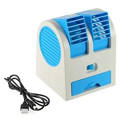 Portable USB Ultra-quiet No Leaves Mini Air Conditioning Fan