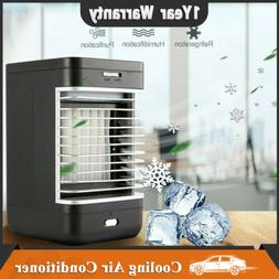 Portable Wireless Mini Air Conditioner Water Cool Cooling Fa