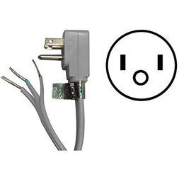 CERTIFIED APPLIANCE 15-0346 Appliance Power Cord  Home & Gar