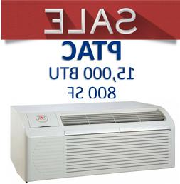 PTAC Air Conditioner 15000 BTU 5kW Electric Heat Strip Packa