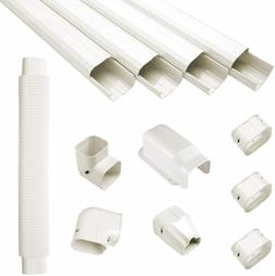 Pvc Decorative Line Cover Kit For Ductless Mini Split Air Co