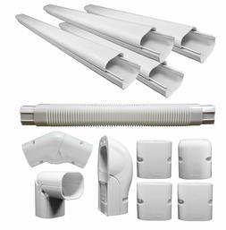 PVC Line Cover Kit Mini Split Aircon Air Conditioner Heat Pu