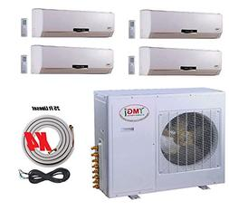 YMGI Quad Zone - Wall Mount Ductless Mini Split Air Conditio
