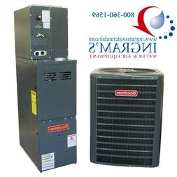 Goodman R410A 13 SEER Complete Split System AC & Gas 2.5 Ton