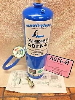 R410a Refrigerant 28 oz. Color Coded EZ Read Gauge Hose Incl
