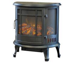 Regal Electric Fireplace - e-Flame USA 25 Inch Black Portabl