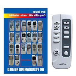Generic Replacement for Frigidaire Air Conditioner Remote Co