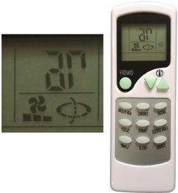 Replacement for QUIETSIDE Air Conditioner Remote Control ZHF