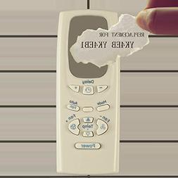 Replacement for GE Air Conditioner Remote Control YK4EB1 wor