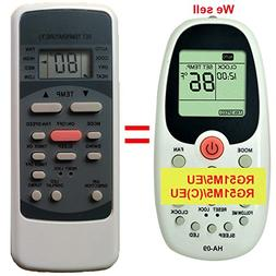 Replacement for Klimaire KSIN Series Air Conditioner Remote