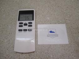 FRIGIDAIRE Replacement Remote LED Temperature Control AC Par