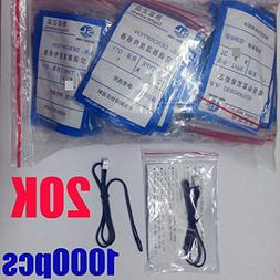 1000Pcs 20K Generic Replacement Window Wall Mount Portable A