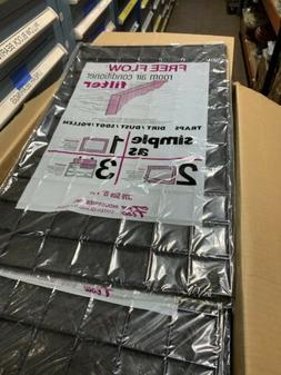 """FREE FLOW Room Air Conditioner Filter 15"""" x 24"""" **BOX OF 50*"""