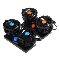 Rotating Round 2Gears Mini Low Noise Adjustable Car Air Cond