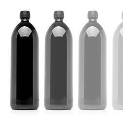 Infinity Jars 1 Liter  Round Ultraviolet Large Glass Water B