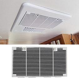 RV Ducted Air Conditioner Grill Cover with Interior A/C Filt