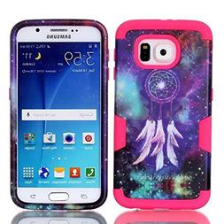 S6 Case, Firefish Compact Design Top Grade PC With Soft TPU