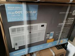 GE Smart Window Air Conditioner Remote Control Digital Gray