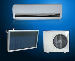 Solar Assist Thermal Hybrid Air Conditioner / Heat Pump 12,0