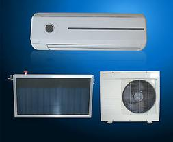 Solar Thermal Hybrid DC INVERTER Air Conditioner Heat Pump 1
