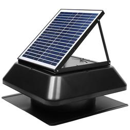 Solar Attic Fan 1750 CFM Vent Fan Exhaust Ventilation Roof M