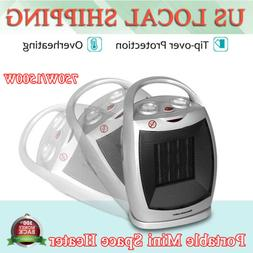 Space Heater Fan Portable Electric Heater with Adjustable Th