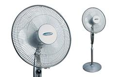 "Soleus Air 16"" Stand Fan with Remote Control"