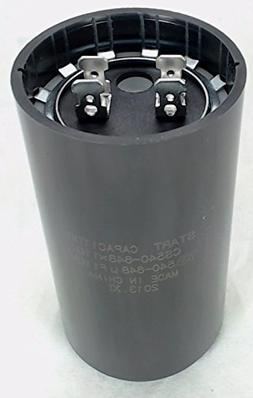 Start Capacitor, Round, 540-648 Mfd., 110 Volt, CS540-648X11