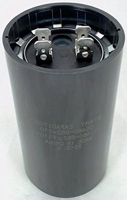 Start Capacitor, Round, 460-552 Mfd., 110 Volt, CS460-552X11