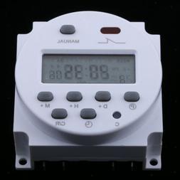 Timer Switch for Solar Lights, Digital Programmable Timer AC