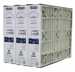 "Trion Air Bear 259112-102  Pleated Furnace Air Filter 20""x25"