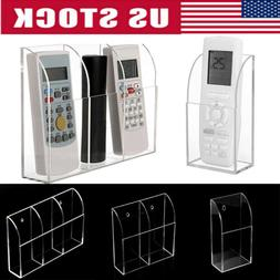TV Air Conditioner Remote Control Holder 1-3 Case Acrylic Wa