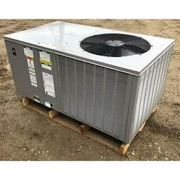 THERMAL ZONE TZAH-42JL 3-1/2 TON HORIZONTAL ROOFTOP AIR COND