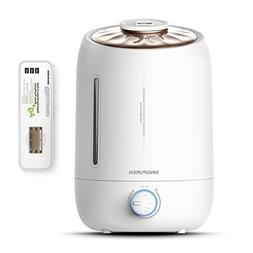 Ultrasonic Cool Mist Humidifier, Sinopuren 5L Large Capacity