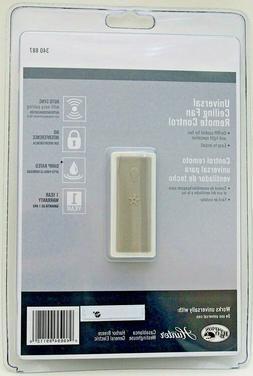 Universal Fan & Light Remote Control + Receiver - #340887