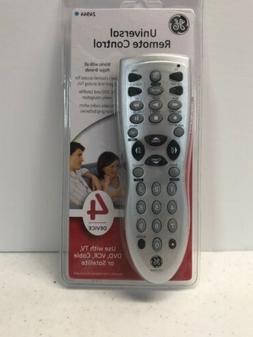 GE Universal Remote 4 Audio / Video Devices # 24944 General