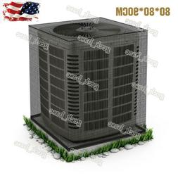 US Full Mesh Air Conditioner Cover - All Season Central AC D