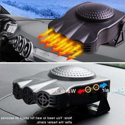 US Portable Car Heater Heating Cooling Fan 12V 150W Electric