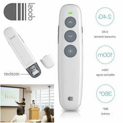 USB Wireless Presenter PowerPoint Presentation PPT Clicker P