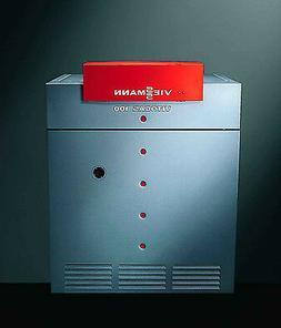 "Viessmann Vitogas 100 92k btu gas boiler, ""open box"" RED"